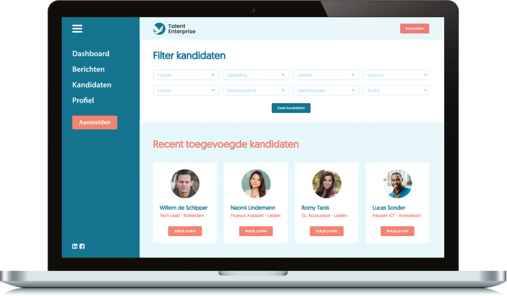 Interim Financials Talent database
